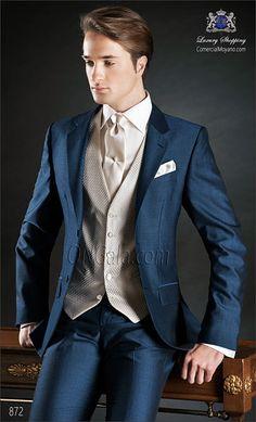 Traje de novio azul 872 ONGala Wedding suit
