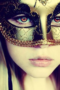 gold mask