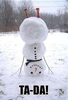 cool snowman - Google Search