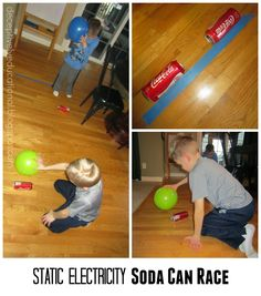 Relentlessly Fun, Deceptively Educational: 3 Fun Ways to Play (and Learn) with Static Electricity