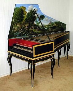 French Harpsichord after Blanchet 1730