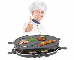 Oferta Raclette 8 Sartenes Grill y Crepera