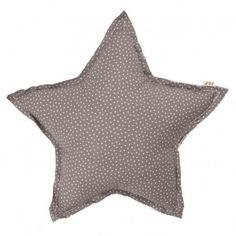 Star cushion - taupe and stars Numero 74