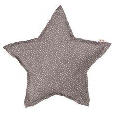 Star cushion - taupe and stars Numero 74