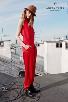 MAIA jumpsuit from ANETA TETER www.anetateter.com