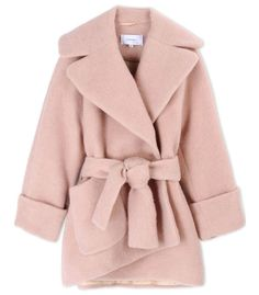 Carven Oversized Cocoon Coat
