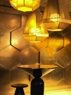 Ecléctic Restaurant in Paris - Interior Design by Tom Dixon #moyodesign #moyoconcept