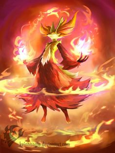 Pokemon XY starter Delphox