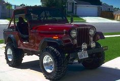 Sand Jeep. Turbocharged 350 ci Chevy engine with edelbrock 4 barrel carb, and intake manifold. Spitfire racing NOS system with extra NOS pedal. 5 speed manual transmition with chevy tranny and transfer case. Goose cooling system. Racing seats, new paint tires and rims. 2 inch coil lift and 2 inch Rancho 5000 suspension lift.