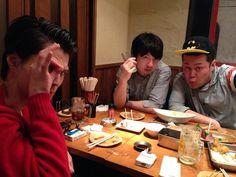 dodonishida:やっぱり安田さんだけじゃ心配だし。  雨だから動物園は持ち越し! 僕も来ちゃった。 詳しくは7日の『6人のライブ』にて! 三四郎さんも合流しまして、打ち上げ!!