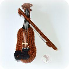Violin - free pattern