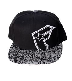 Famous Stars And Straps Men's Giant Reflex Snapback Hat