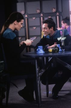 deep space nine dax - I wanted a man to love me the way Bashir loved Jadzia