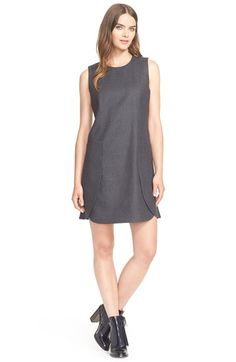 Tory Burch Wool Flannel Shift Dress available at #Nordstrom