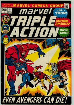 Marvel Triple Action 8 (FN 6.0)