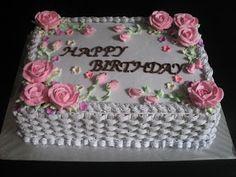 basket weave cake, pink roses Fun In Cake Decorating: July 2010