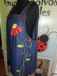 Zentangle Patterns, Some Ideas, Diy And Crafts, Applique, Sewing Ideas, Creative, Inspiration, Apron, Made By Hands