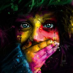 Patrice Murciano was born in Belfort on May 27, 1969, he grew up in South of France. He is a visual artist and uses mostly acrylic color for painting.