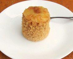 microwave upside down cake