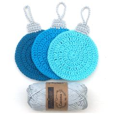 atty's: Crochet Christmas Coasters Cute coasters: Diagram Pattern