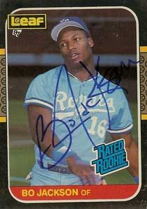 Bo Jackson - Because if you grew up in Alabama in the 1980's, no matter what team you pulled for, EVERYONE wanted to be Bo... why? because Bo Knows...