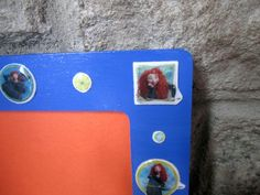 BRAVE MERIDA royal blue picture frame - pinned by pin4etsy.com