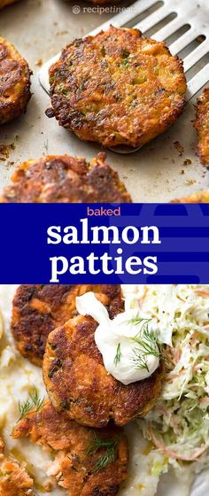 Salmon Patties A very easy salmon cakes recipe that can be made with either canned salmon OR fresh salmon. Quick to prepare, golden and crispy on the outside, moist and savoury on the inside with lovely big flakes of salmon! Fish Recipes Healthy Tilapia, Canned Salmon Recipes, Best Fish Recipes, Sushi Recipes, Cooking Recipes, Healthy Recipes, Canned Salmon Cakes, Salmon Fish Cakes, Cake Recipes