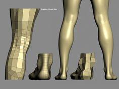 Psyche - Character modeling studies (Part 3) - Autodesk Community