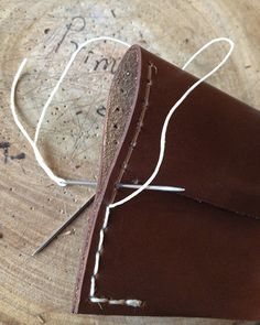 How to hand sew leather? | Prim Object LeatherCraft