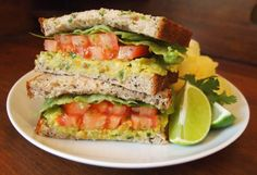 Smashed Chickpea and Avocado Salad Sandwich | Vegan Food | Living | PETA