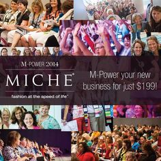 Miche M-Power Conference 2014 | Get the Details at MyStylePurses.com.                   Who knew they went to home party/direct sales?!!