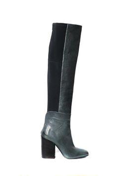 green cuissard boots