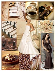 espresso wedding theme - Google Search