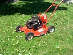 Jacobsen commercial 2-cycle pushmower