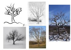 Winter Trees - Art Drawing for Primary. A Powerpoint to support the sketching of 'winter trees' Kanban Crafts, Art School, School Stuff, Winter Trees, Elementary Art, Tree Art, Pattern Art, Teaching Resources, Art Drawings