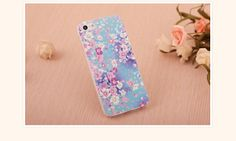 REGISTER ON PERSNMALL.COM Flower Painting Case for iPhone 5 & 5S