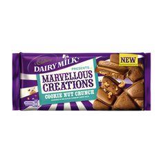Cookie Nut Crunch Cadbury CADBURY.CO.UK ❤ liked on Polyvore featuring food