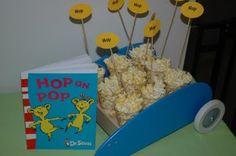 HOP ON POP CORN #Seuss #Snack