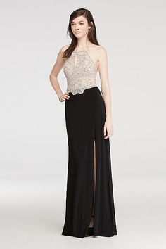 Halter Prom Dress wi