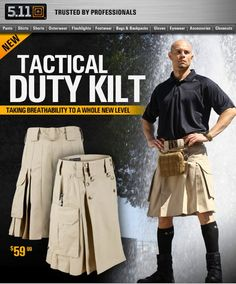 Tactical Kilt (this is not a joke either...)