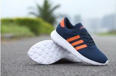 New arrive Adidas NEO 2015 zomer Net surface Lovers renschoenen - blauw/Orange