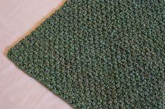 """Купить вязаный коврик прямоугольный """"Малахит"""" - зеленый, оттенки зеленого, вязаный коврик, прикроватный коврик"""