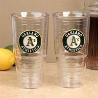Oakland Athletics Tervis Tumblers - tailgating just got easier!