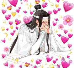 Cute Girl Pic, Cute Love, Cute Girls, Heart Meme, Reaction Pictures, Anime Art Girl, Fujoshi, Anime Love, Anime Couples