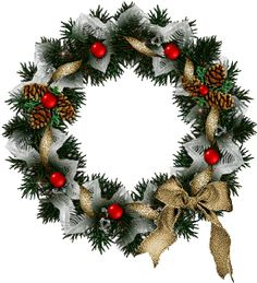 """""""Free Christmas Animation"""" By Rev. Barbara Sexton 'Dear Ones Healing Ministry' Animated Christmas Decorations, Animated Christmas Pictures, Christmas Card Crafts, Christmas Stockings, Christmas Wreaths, Christmas And New Year, Christmas Time, Vintage Christmas, Holiday"""