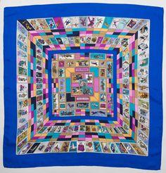 726 Best si ji➏ images   Hermes scarves, Silk scarves, Scarf patterns b4eec74b30a