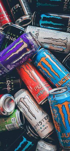 Black Aesthetic Wallpaper, Aesthetic Iphone Wallpaper, Aesthetic Wallpapers, Monster Energy Girls, Love Monster, Photographie Indie, Fille Gangsta, Rockstar Energy Drinks, Monster Pictures