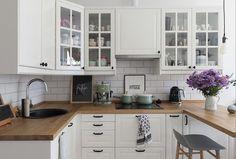 Country Kitchen Designs, Kitchen Room Design, Kitchen Cabinet Colors, Kitchen Interior, Kitchen Dining, Kitchen Decor, Diy Kitchen Remodel, Kitchen Upgrades, Küchen Design