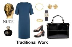 Traditional Work by celia-u on Polyvore featuring mode, Jaeger, Kate Spade, Tiffany & Co., Cartier, Vita Fede, Bony Levy and Christian Dior