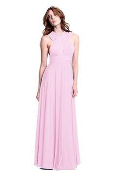 blush convertible bridesmaid dress!